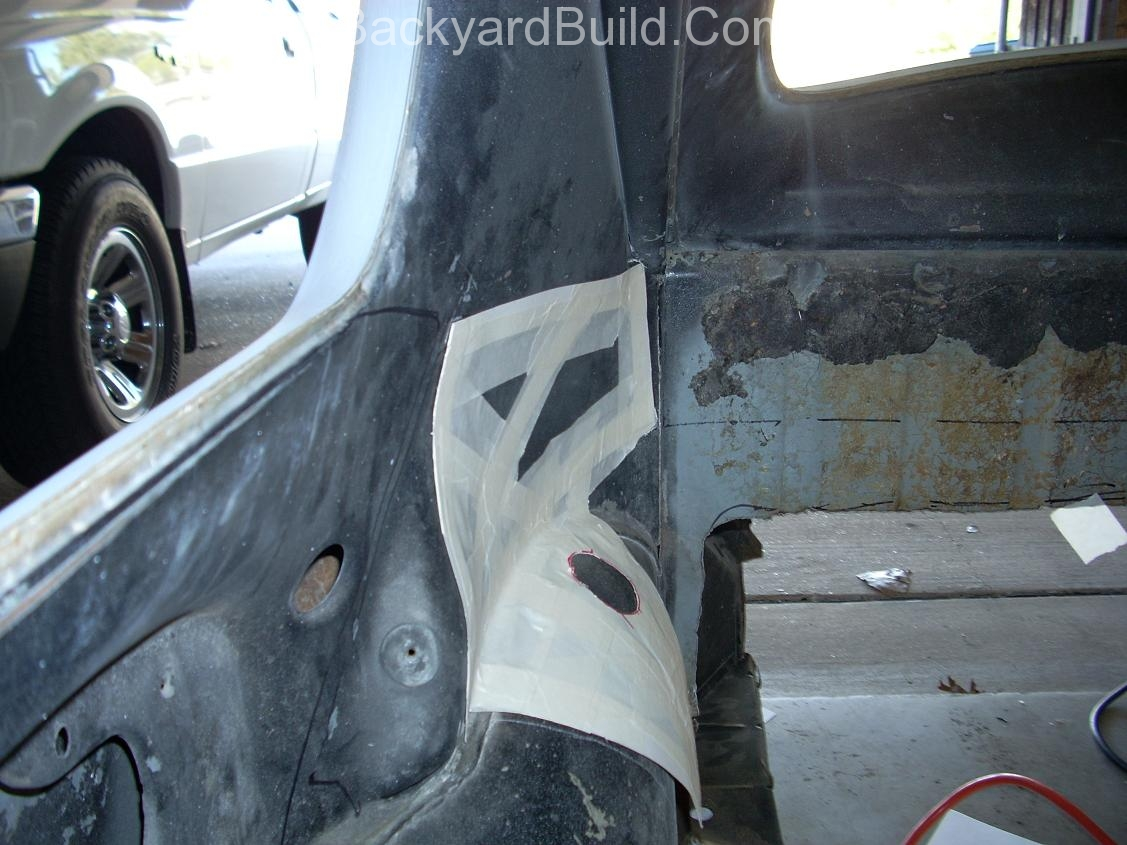 Reinstall rear basket and create strut location panels 4