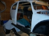 Fit VW bug body over 3SGTE engine and frame 15