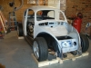 Fit VW bug body over 3SGTE engine and frame 1
