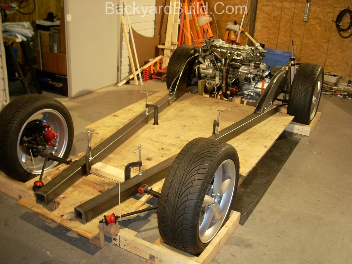 Fit VW bug body over 3SGTE engine and frame 31
