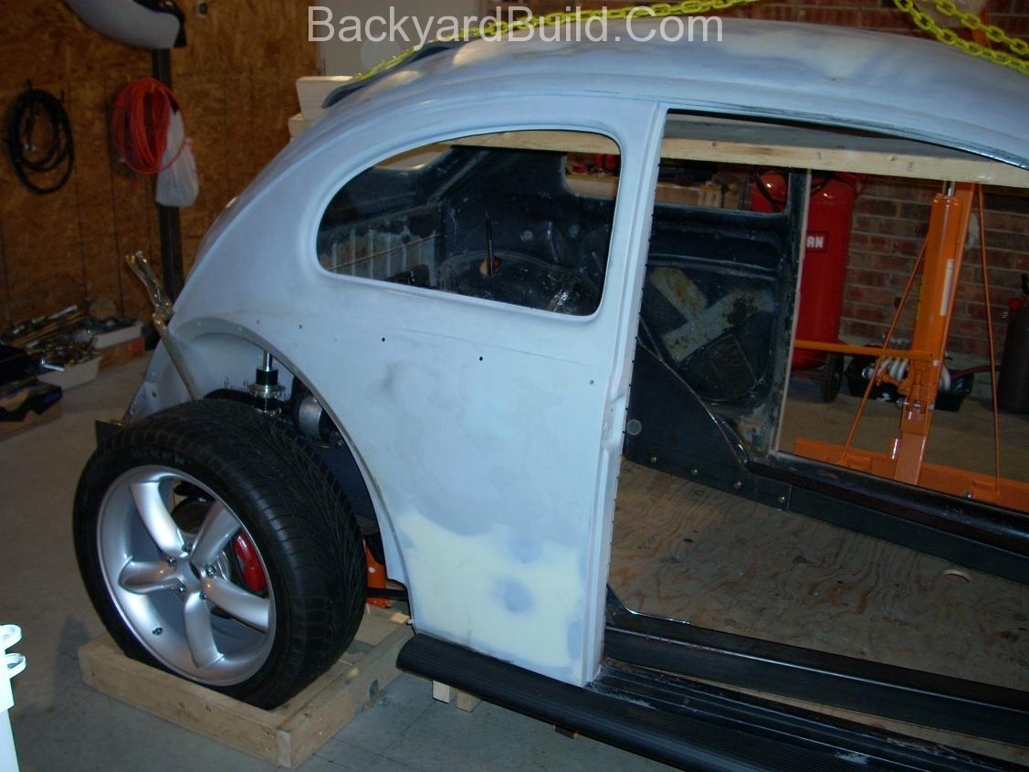 Fit VW bug body over 3SGTE engine and frame 5