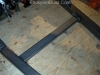 Build VW bug lower frame members 6