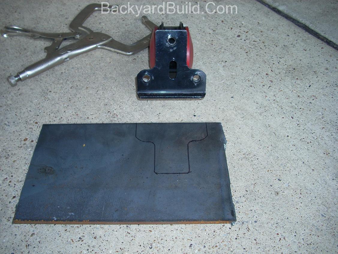 build motor mount rear fire wall 7