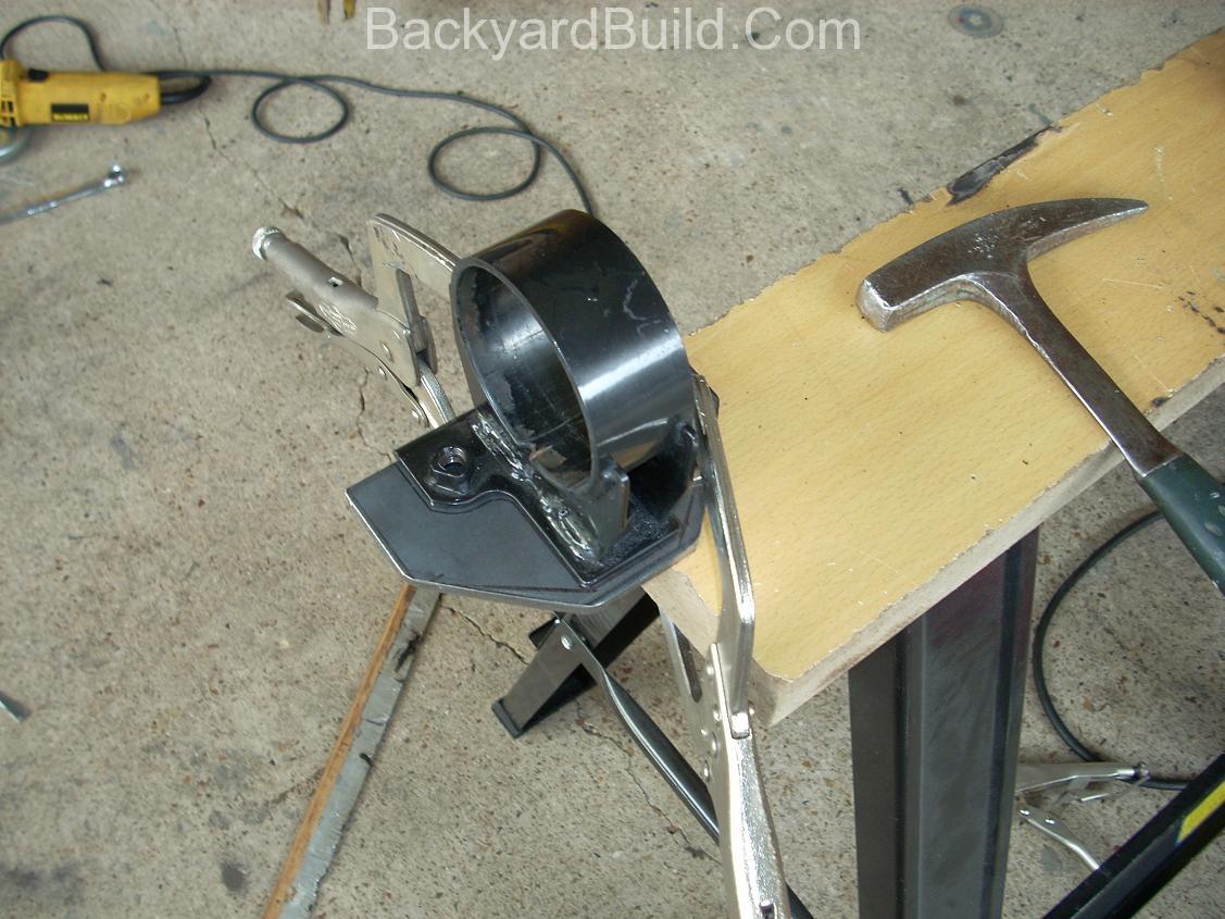 build motor mount rear fire wall 10