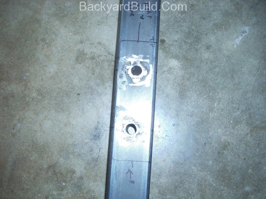 build motor mount rear fire wall 11