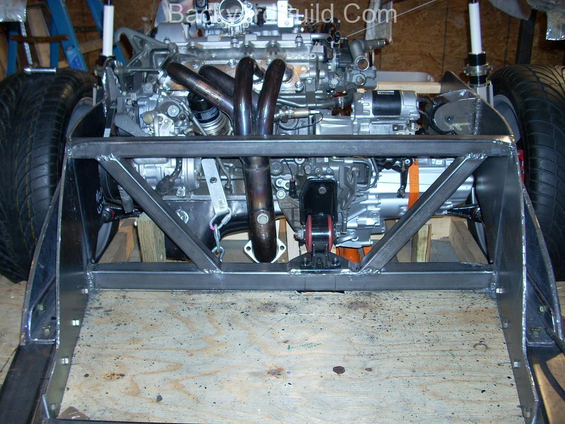 Build MR2 3SGTE rear firewall 5