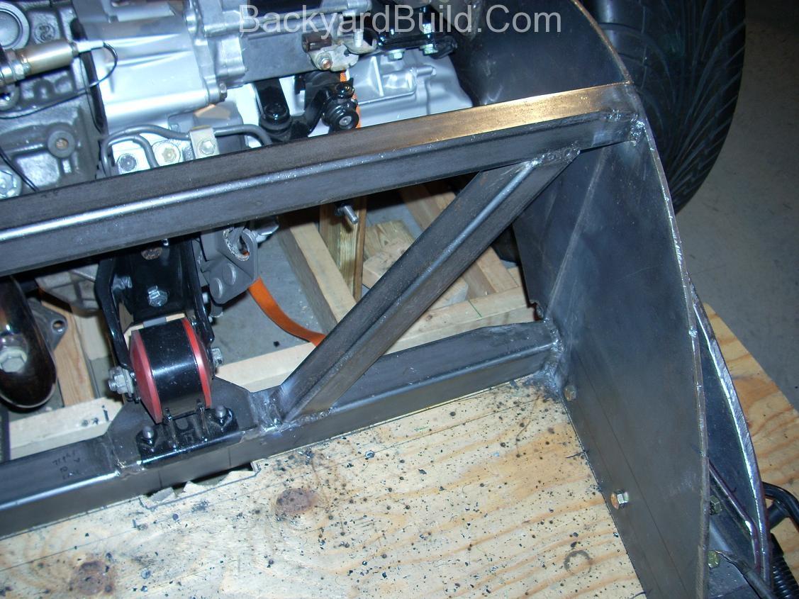 Build MR2 3SGTE rear firewall 6
