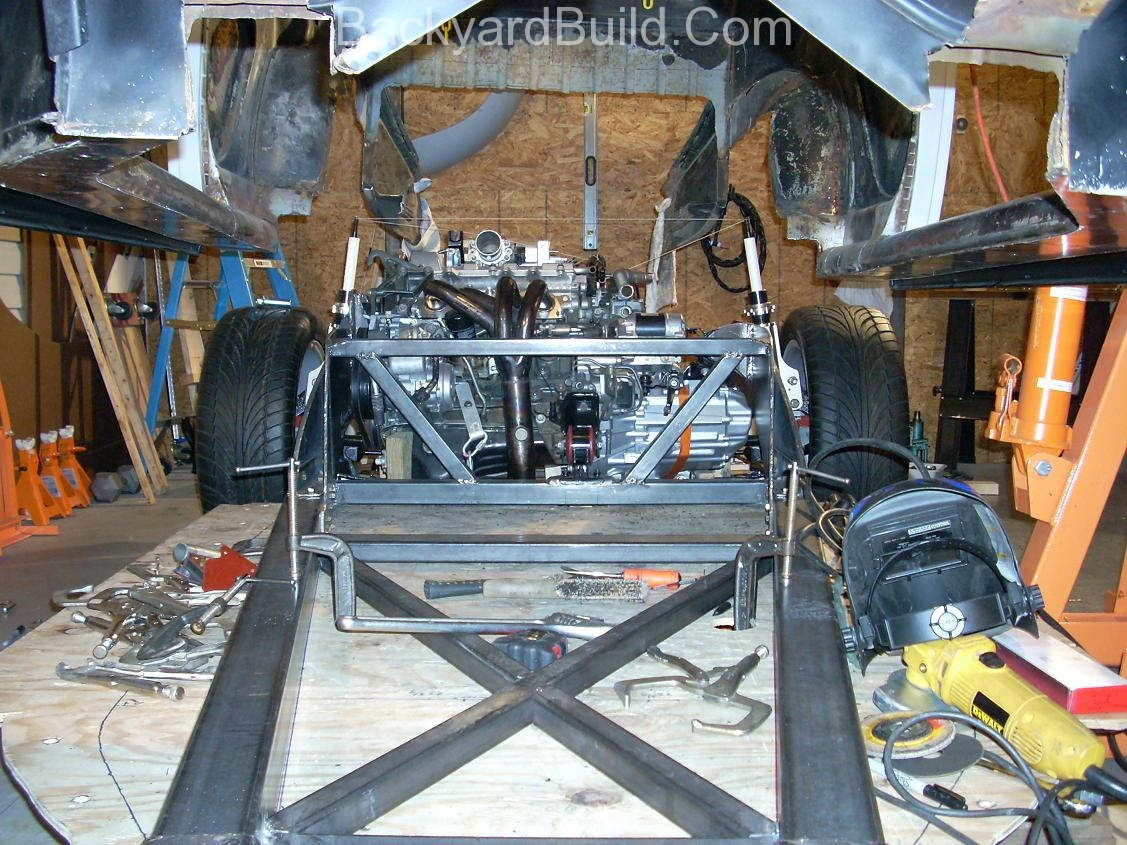 Build MR2 3SGTE rear firewall 8