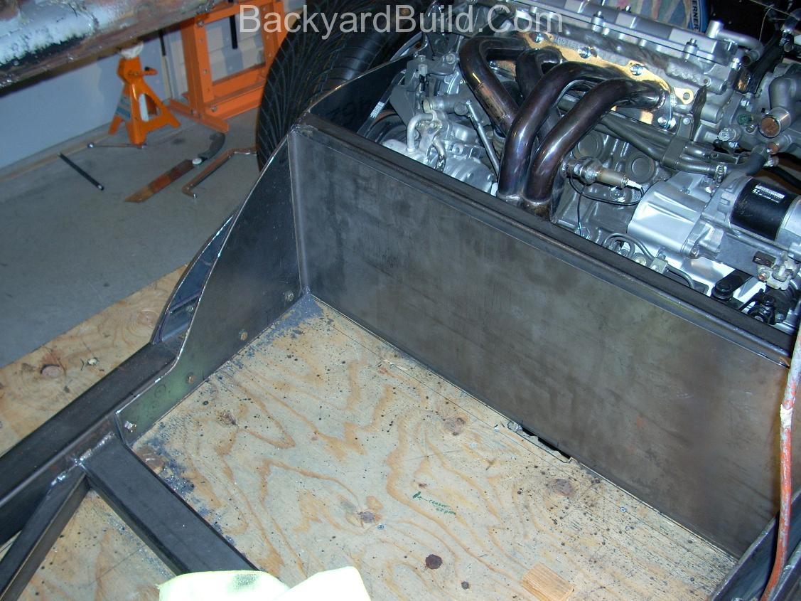 Build MR2 3SGTE rear firewall 16