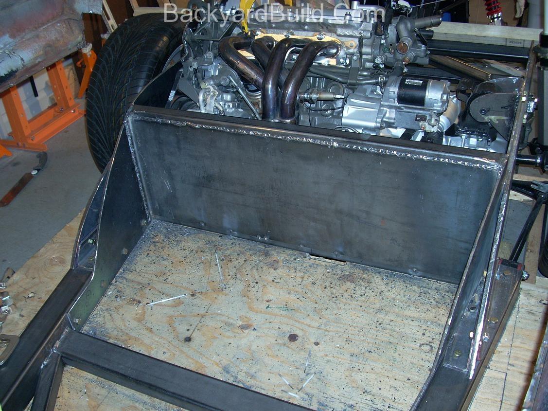 Build MR2 3SGTE rear firewall 17