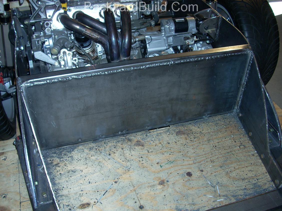 Build MR2 3SGTE rear firewall 18