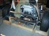 Build VW bug MR2 3SGTE rear engine cage bracing 8