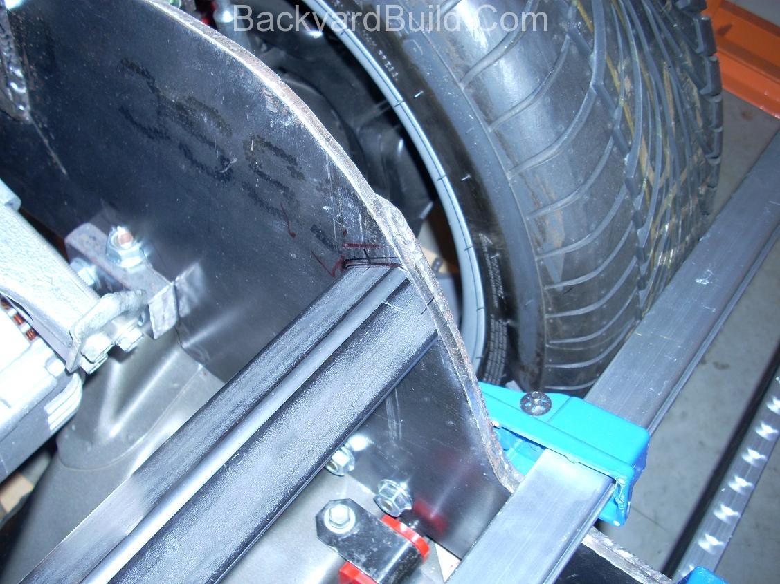 Build VW bug MR2 3SGTE rear engine cage bracing 4