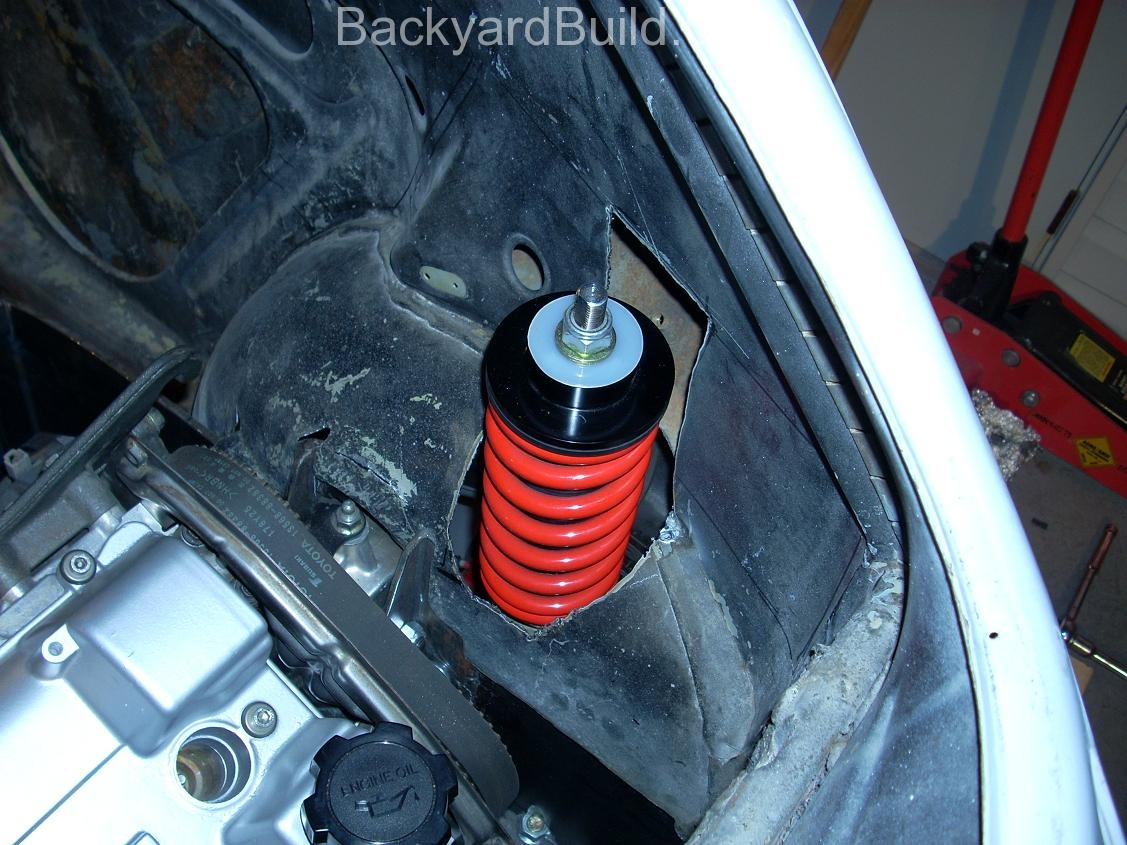 Get the VW bug rear shocks to fit 5
