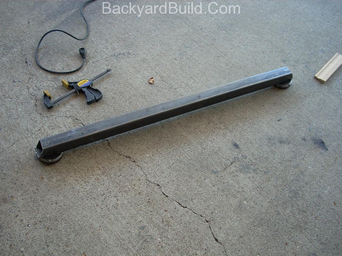 Create rear strut link 8
