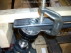 Create and position the VW bug front strut link 8