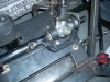 Mount steering rack and pump 11