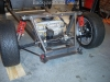 Mount steering rack and pump 23