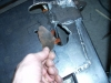 Attach bracing plates and flip for welding 1