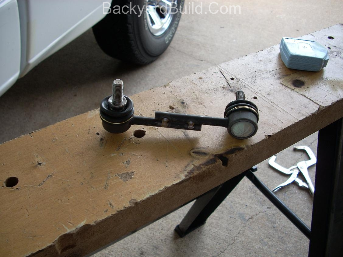 Reengineer the front VW bug MR2 sway bar 4