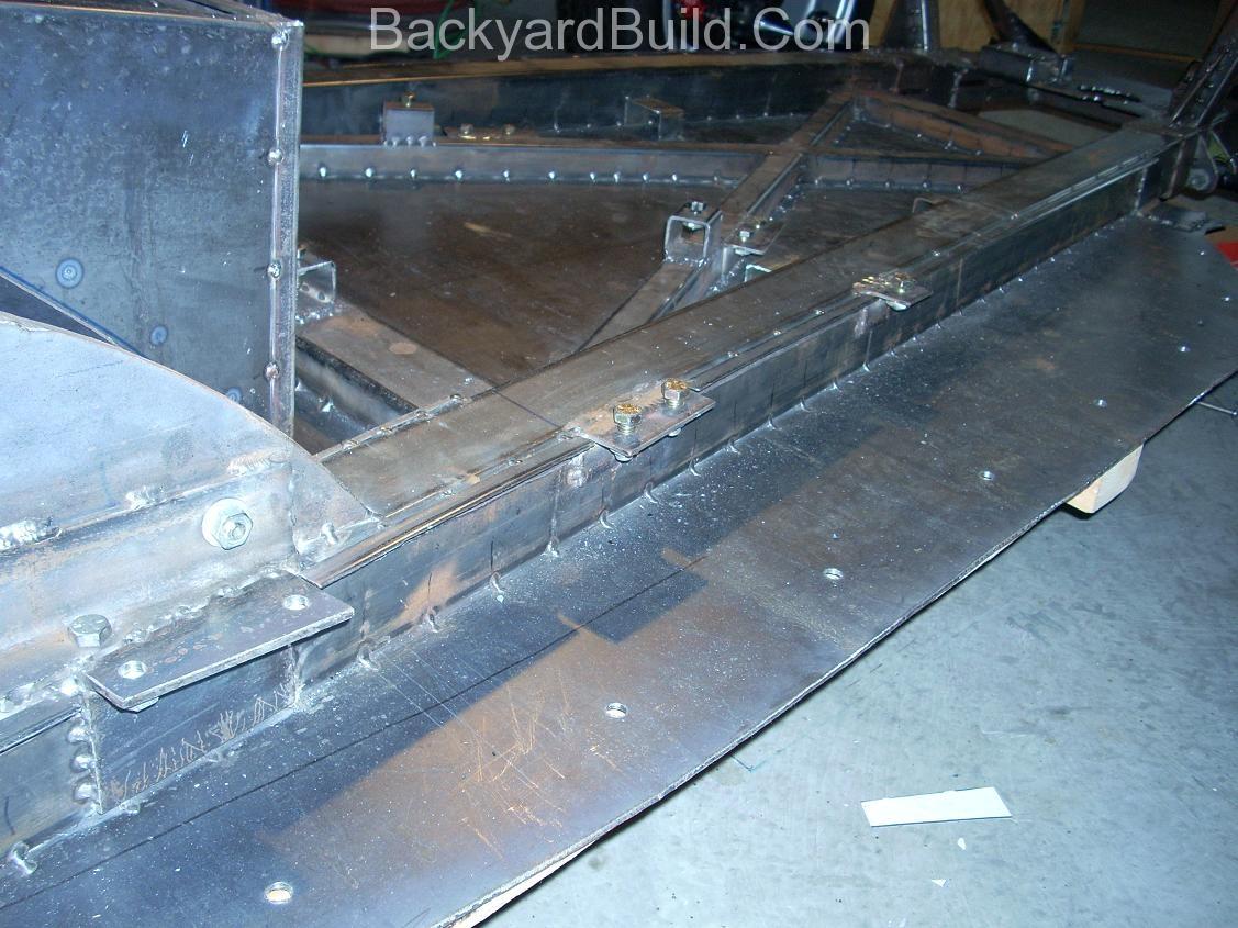 Interior panel mount pieces 11