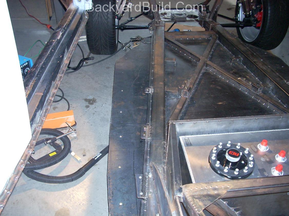 Interior panel mount pieces 12