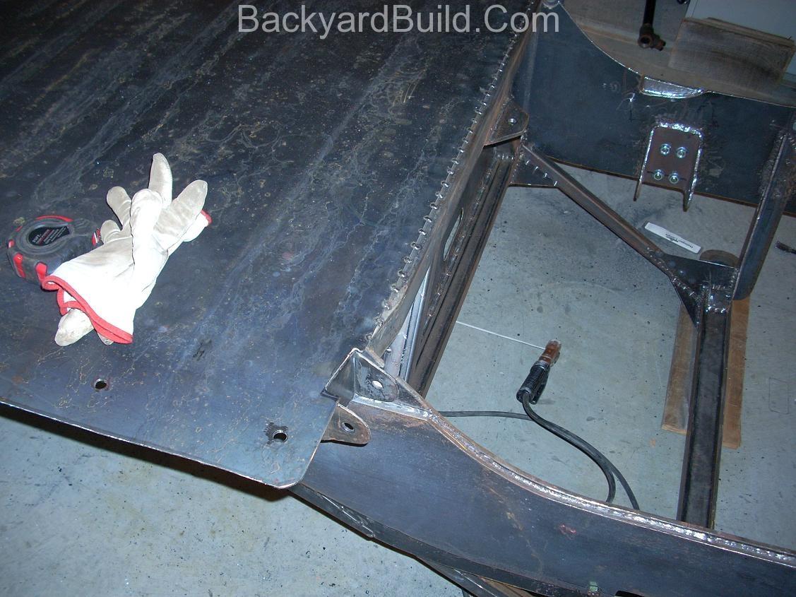 Flip the VW bug MR2 frame over to finish 10