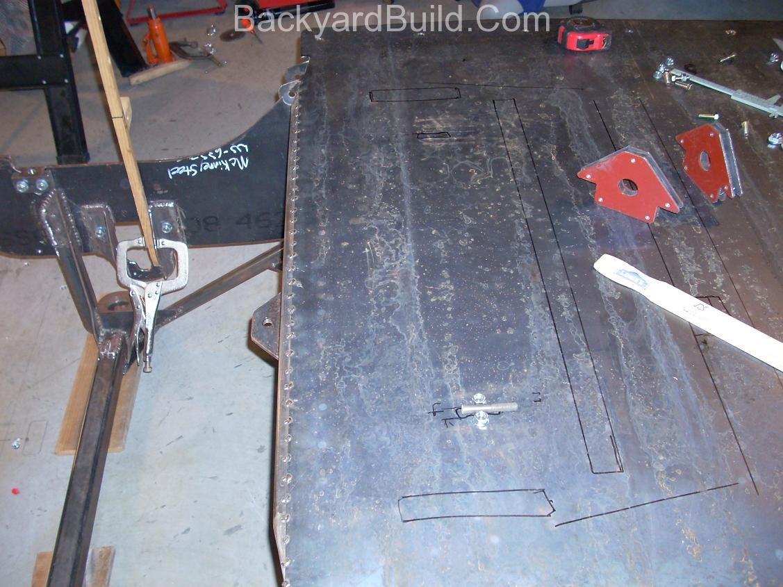 E-brake installation 4
