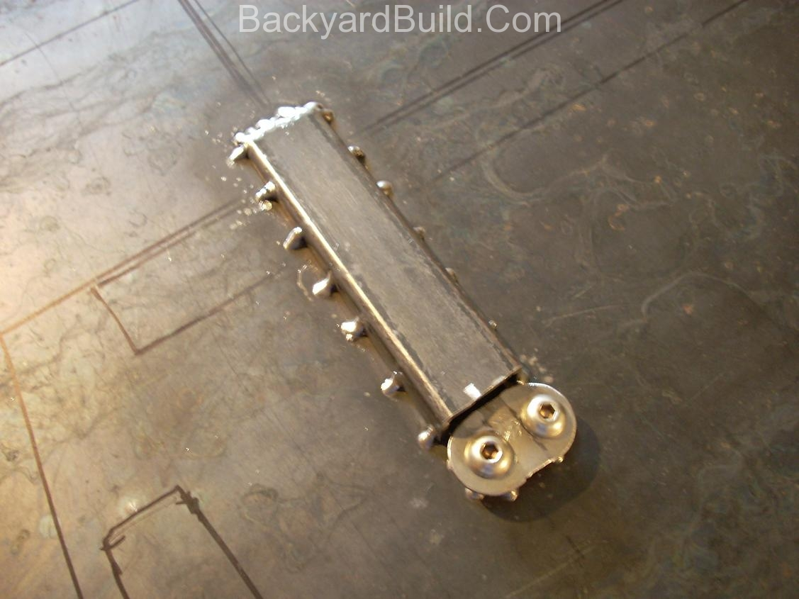 E-brake installation 13