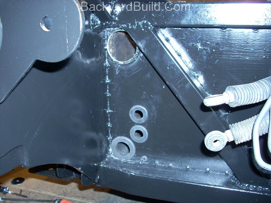 Cutting firewall heater holes