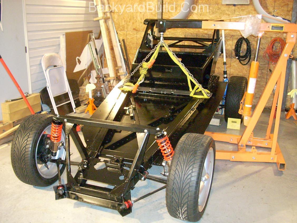 VW bug MR2 Frame lift 2