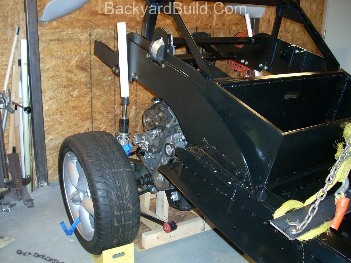 VW bug MR2 Frame lift 4