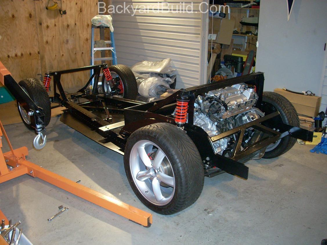 VW bug MR2 Frame lift complete