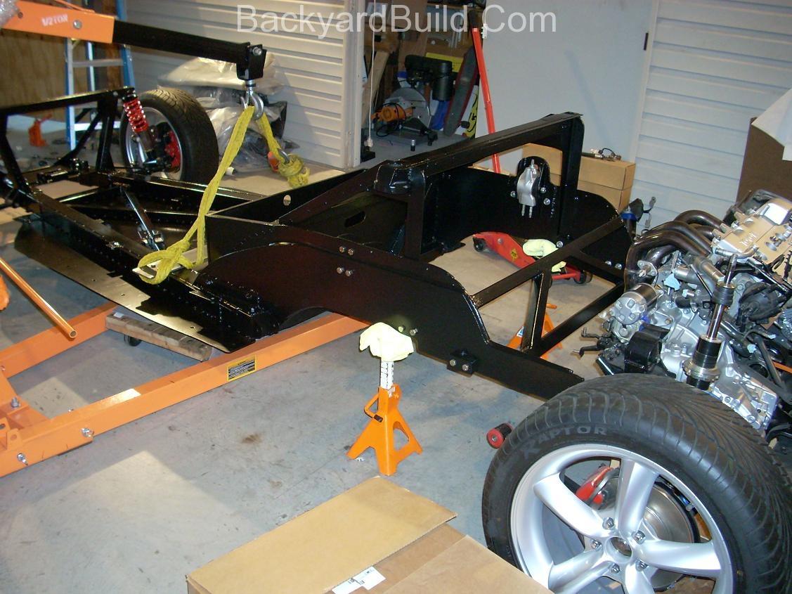 VW bug MR2 Frame lift