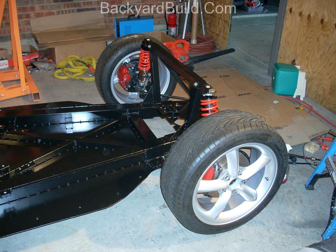 VW bug MR2 Front end side