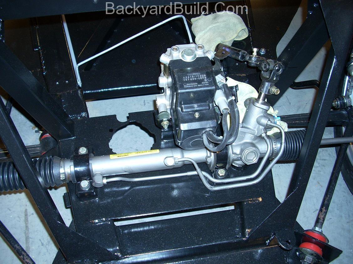 VW bug MR2 steering rack 3