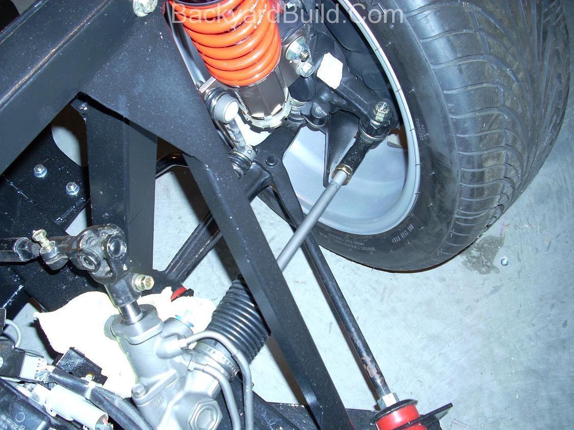 VW bug MR2 steering rack 4