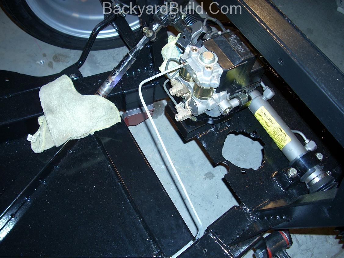 VW bug MR2 steering rack 6