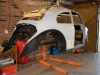 Unite VW bug body and frame 3