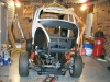Unite VW bug body and frame 4