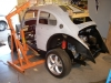 Unite VW bug body and frame 8