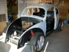 Unite VW bug body and frame 9