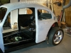Unite VW bug body and frame 10