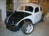 Unite VW bug body and frame 16