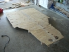 Create and attach plywood platform 6