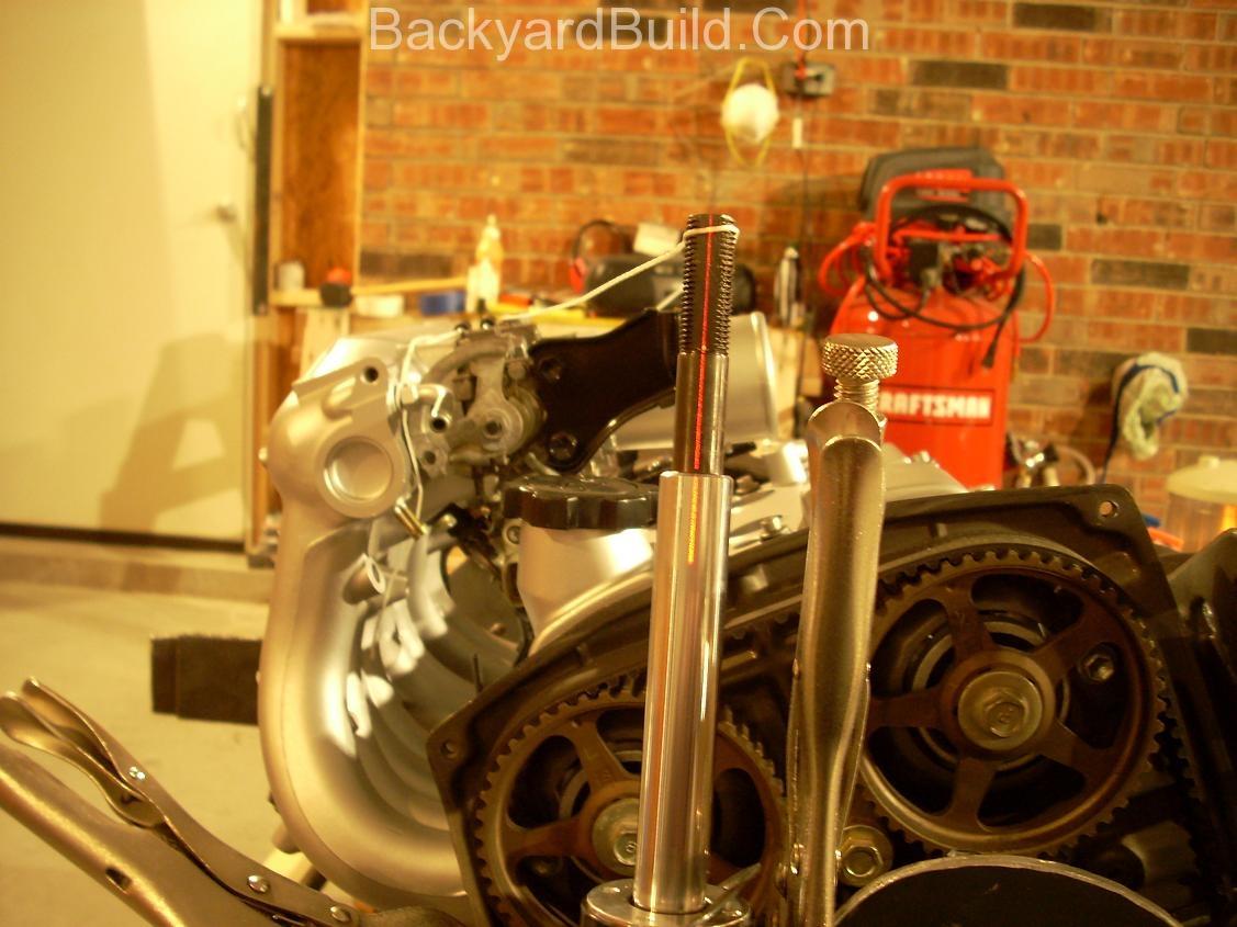 Align engine for motor mount 1