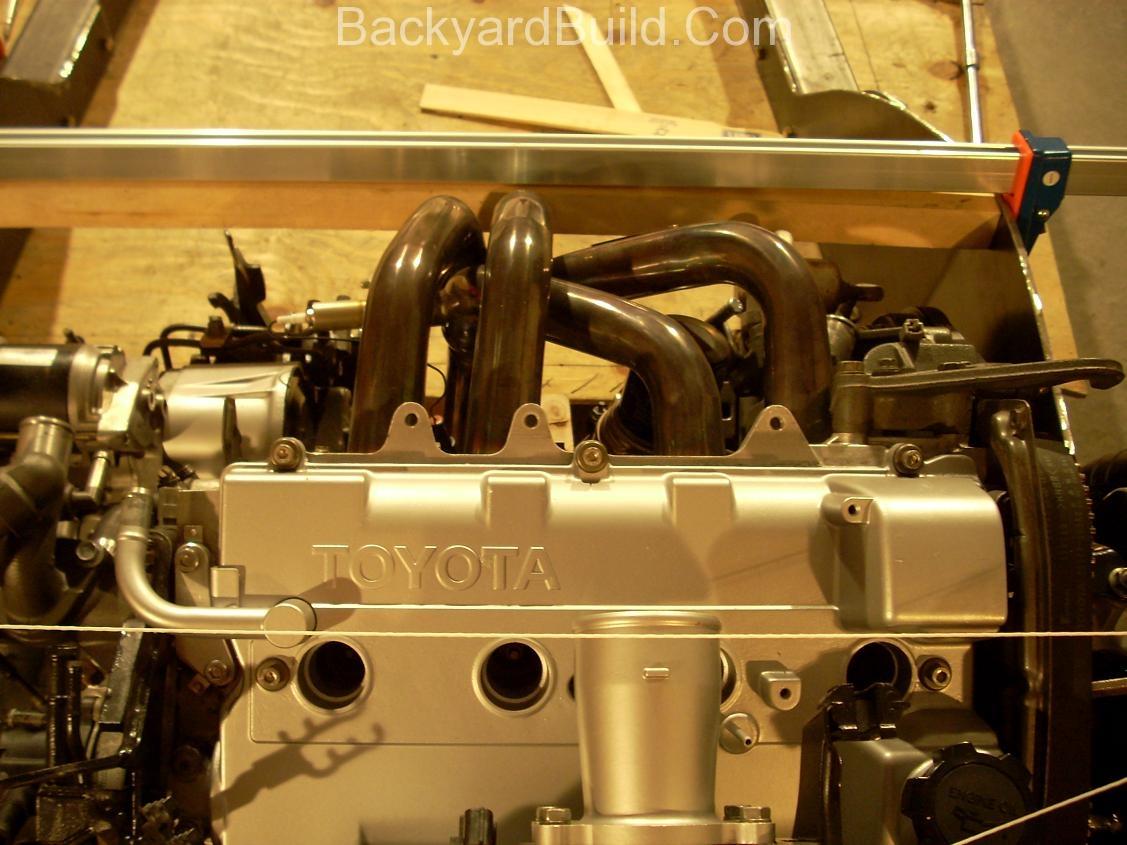 Align engine for motor mount 3