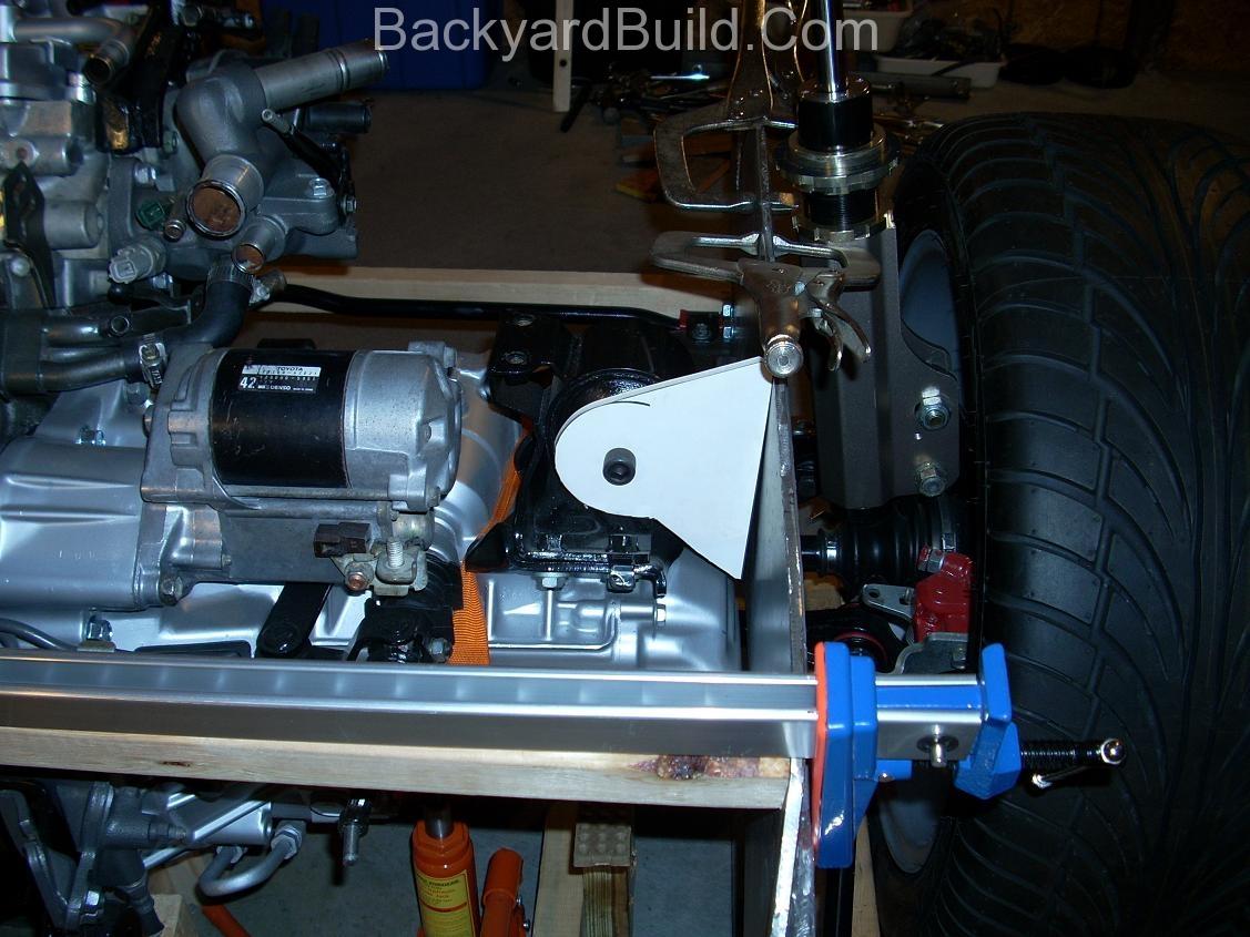 Align engine for motor mount 8