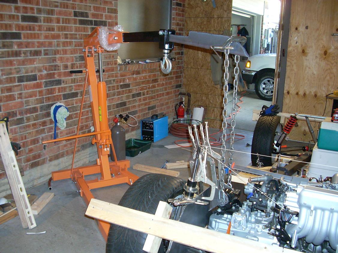 Align engine for motor mount 15