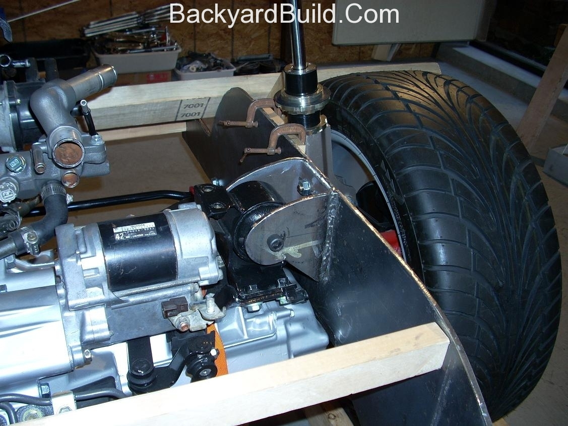 Finish motor mounts and align rear end 3